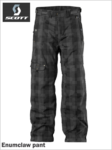 Enumclaw pant - Black Check Twill (only XL now left)
