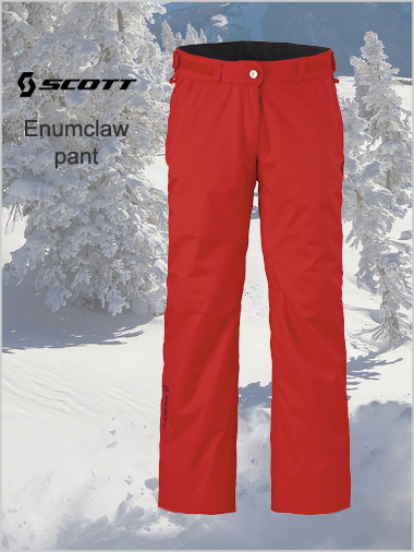 Womens Enumclaw pant - True red
