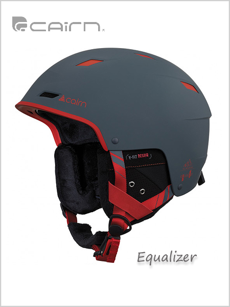 Equalizer helmet - Mat Shadow / Poppy