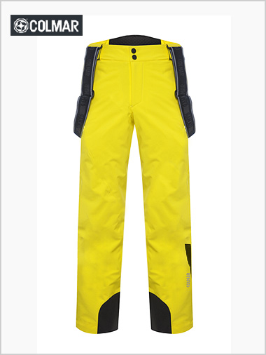 "Men's Evolution salopette - yellow (only 36"" waist now)"