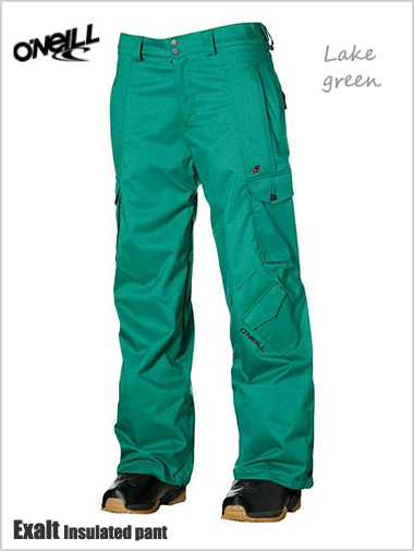 Exalt Insulated pant - Lake green
