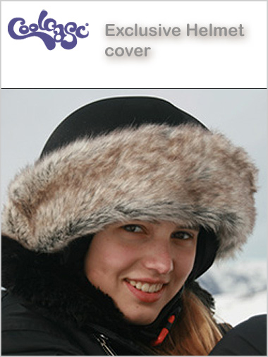 Helmet cover - Ladies Exclusive