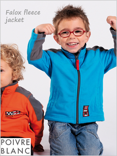 Child - Falox boys fleece top (Age 8 only now)