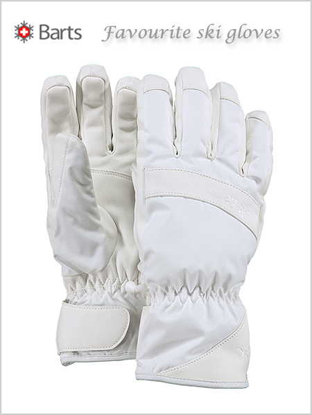 Barts Favourite ski gloves - white