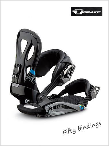 New Fifty - mens snowboard bindings