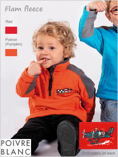 Child - Flam boys fleece top (only 5Y now left)