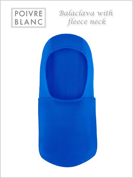 Balaclava / fleece neck (True blue) - child / junior
