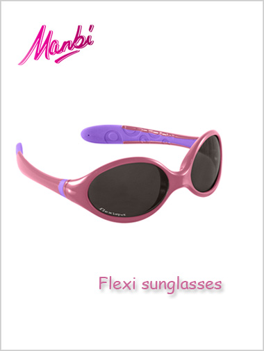 Junior - Flexi sunglasses (pink / lilac)