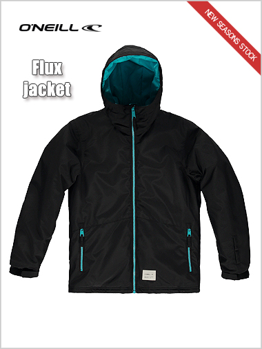 Ages 12-16: Flux jacket - black