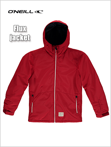 Ages 12-14: Flux jacket - scooter red