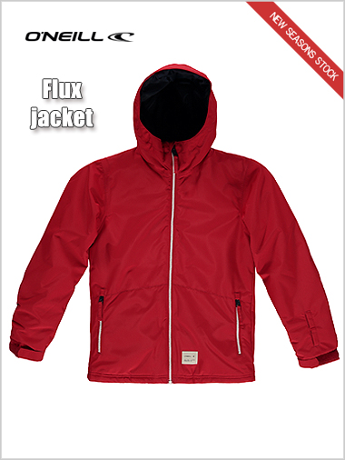 Ages 12-16: Flux jacket - scooter red