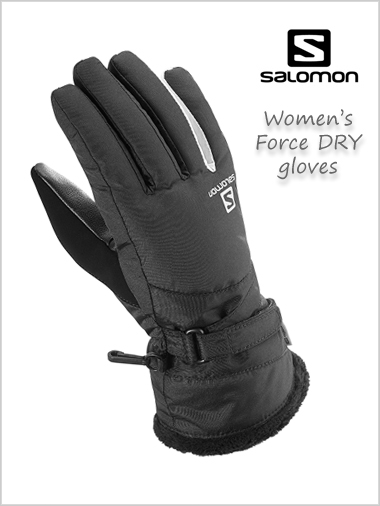 Force DRY Ladies gloves - black