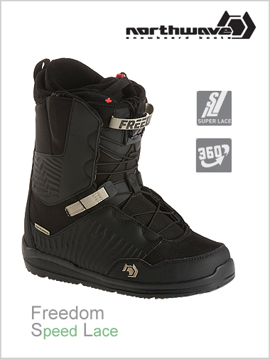 NEW Freedom SL mens snowboard boot - black