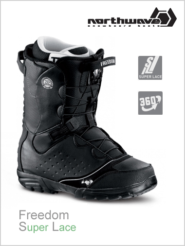 Freedom SL mens snowboard boot - black