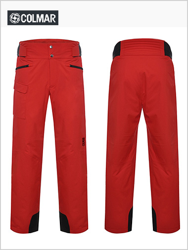 Calgary men's freeski pant - fire red