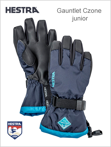 Child - junior: Gauntlet Czone JNR - blue  (ages 4 - 14)
