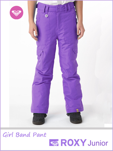 Ages 16: Girl Band snow pants - Purple