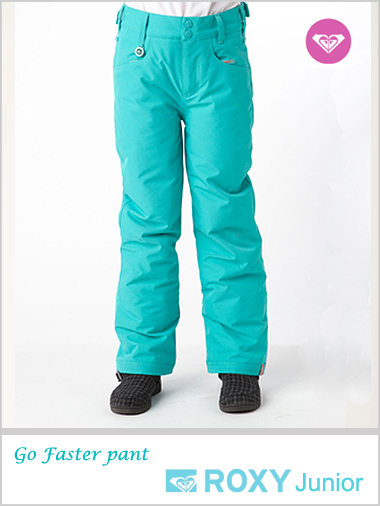 Age 8-10: Go Faster snow pants - Ceramic