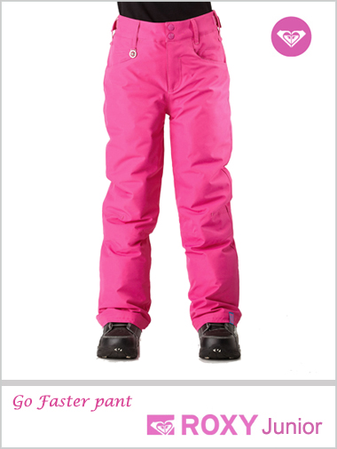 Age 8-12: Go Faster snow pants - Lily
