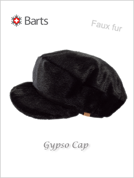 Gypso Cap - faux fur black