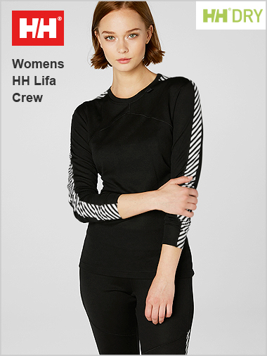 NEW HH Womens Lifa crew top