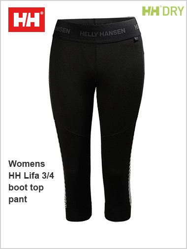 HH Womens Lifa 3/4 Boot top pant