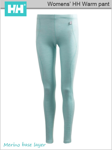 Womens - HH Warm pant (Merino) - Ice Cube  (only S now left)