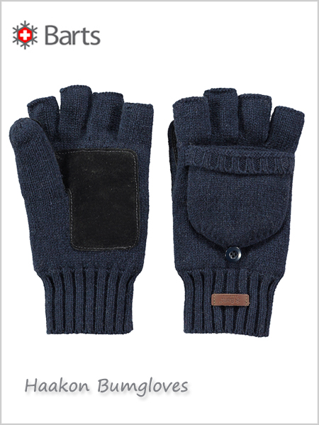 Haakon bumgloves - navy