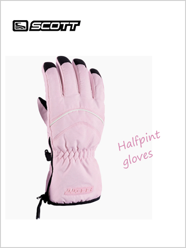 Child: Halfpint gloves - pink (age 3-4)