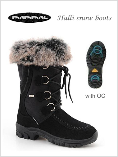 Halli OC snow boots - only UK 4 & 7.5 now left