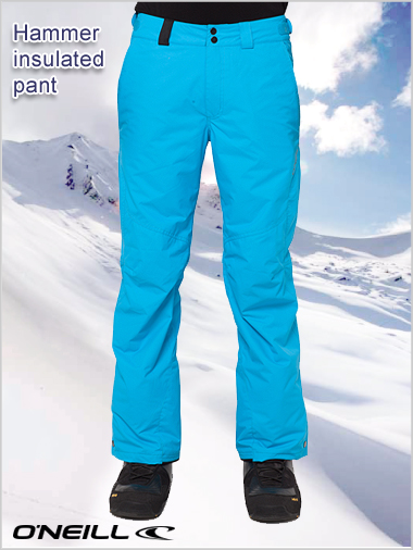 Insulated Hammer pant - Pure Cyan