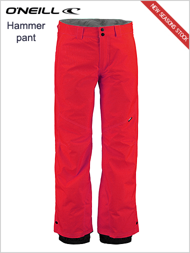 Hammer pant - Scooter red