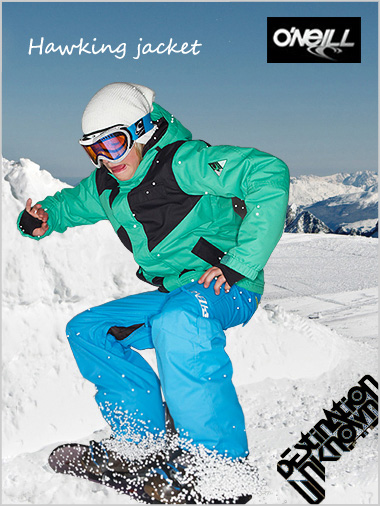 Ages 10: Hawking jacket - Mundaka green