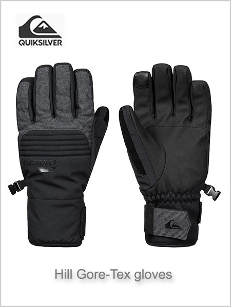 Hill gore-tex gloves - Black