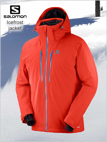 Icefrost jacket - Fiery red