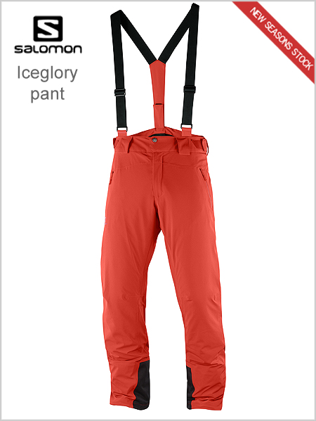 Iceglory pant - Fiery red