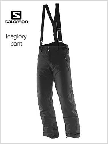 Iceglory pant - black (short & reg lengths)
