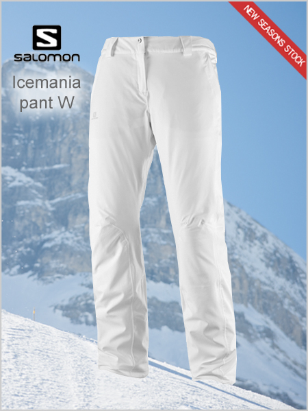 Icemania pant women - white