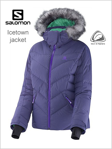 Icetown Down Jacket (Purple) - womens