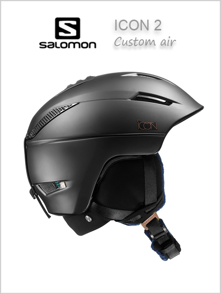 Icon 2 (Custom Air) womens helmet - black