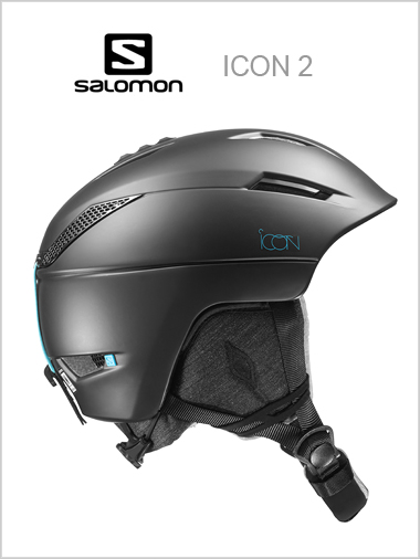 Icon 2 womens helmet - black