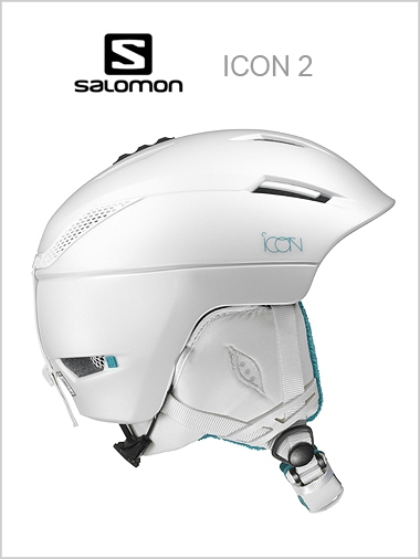 Icon 2 womens helmet - white