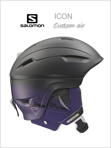 Icon 4D Custom Air womens helmet - black