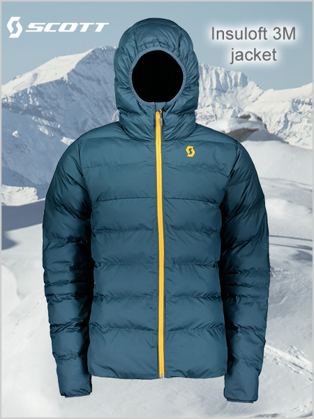 Insuloft 3M jacket - Nightfall blue (mid layer or apres)