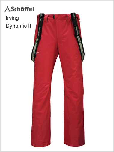 Irving Dynamic II pant - red (only 36R now left)