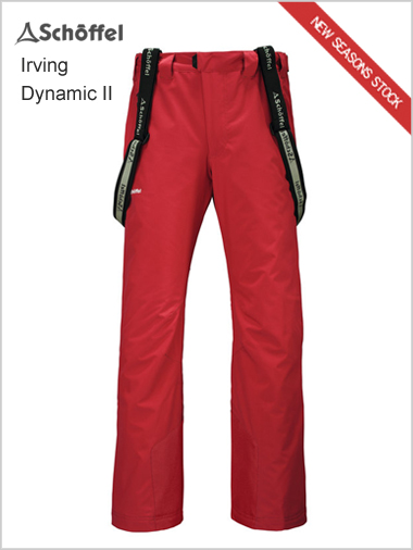 Irving Dynamic II pant - red