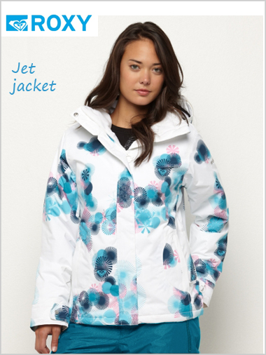 Jet jacket - Blossom white (only XL now left)
