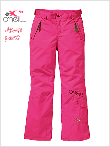 Age 8-12: Jewel pant - Beetroot pink
