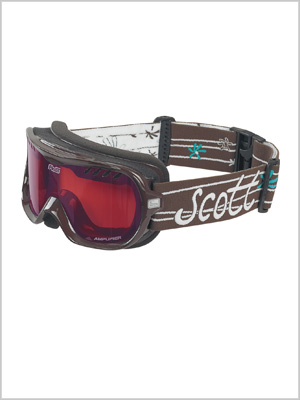 Jewel goggle -  brown