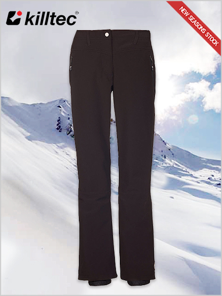 Jilia softshell pants - black